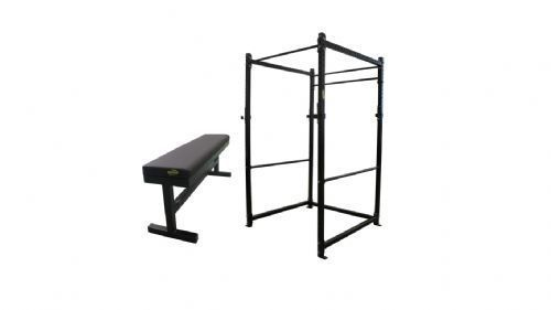Kit Power Rack C - 54 + Banco R - 13